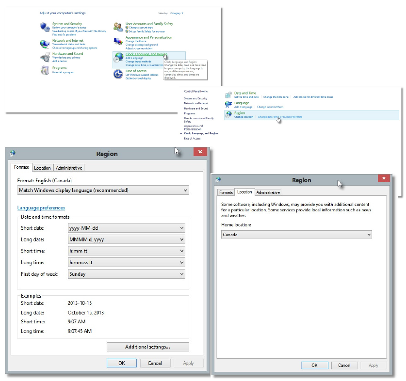 Language Settings – how it effects your import data   GoMax CRM